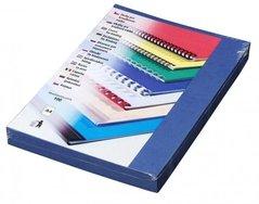 Karton DELTA  A4/250g/100ks tmavě modrá-imitace kůže