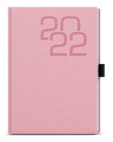 Diář týdenní - David - Fabric - A5 - růžový   BDD27-51-22