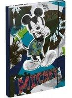 Box na sešity s gumou A4  Mickey    A-6247