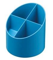 Stojánek kulatý GREENline - na tužky, intenzivní modrá               50034048