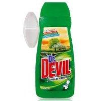 Osvěžovač WC gel+závěs.držák Dr.Devil fresh apple 8264