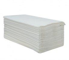 Ručník papírový ZICK-ZACK bílý 2vrst. 24x25,5cm celulóza  040111
