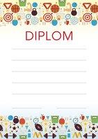 Diplom A4 Sportovní hry BD145