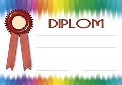 Diplom A5 Barvy BD058