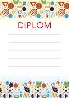 Diplom A5 Sportovní hry BD059