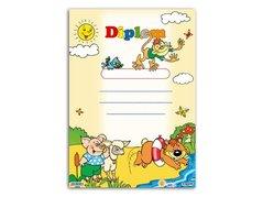Dětský diplom A4 - Zvířátka u vody           5300441