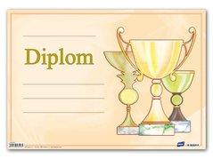 Dětský diplom A4 -  Poháry                         5300442