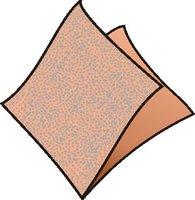 Ubrousky 33x33cm, apricot, (100ks/12bl) 1vrst, GASTRO 70504