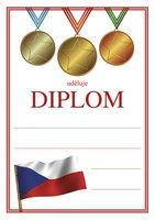 Diplom A5 Medaile BD045