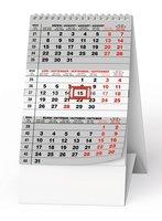 Kalendář stolní - Mini  Tříměsíční BSA7-22