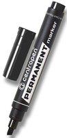 Značkovač Permanent 8576/1, černý, 1-4,6mm, klínový hrot, CENTROPEN
