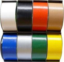 Páska lepící pogumovaná 48mm/12m, voděodolná, textilní, barevná