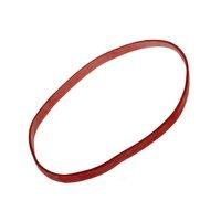 Gumičky průměr 100mm/5mm silné 1kg, červené  64510