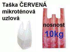 Taška MI 10 kg ČERVENÁ pruhy /30+18x55/2000/100