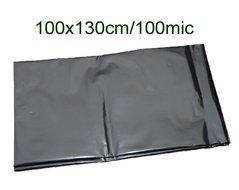 Pytle odpadní 100x130cm/100my černé