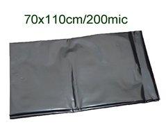 Pytle odpadní 70x110cm/200my černé