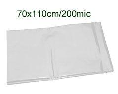 Pytle odpadní 70x110cm/200my transparentní