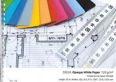 "PLOT 5922A Canon Opaque White Paper   610x30m/120g 24"""
