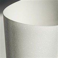 Papír třpytivý Galeria Papieru bílá A4/210g, 5ks