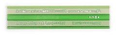 Šablona školní písmenová 2,5 mm