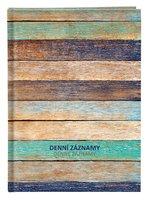 Denní záznamy - A4 - lamino - Dřevo