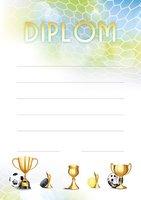 Diplom A4 Sportovní hry