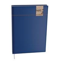 Notes linkovaný A6 - denim - modrá