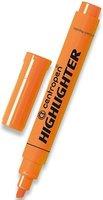 Zvýrazňovač 8552/1, oranžová, 1–4,6mm, klínový hrot, CENTROPEN