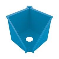Stojan na papír. kostku GREENline - 10x10cm, světle modrá               50033454