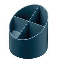Stojánek kulatý GREENline - na tužky, tmavě modrá      50034031
