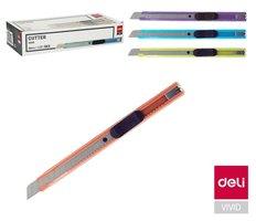 Nůž 135mm odlamovací kovový DELI E2066