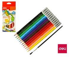 Pastelky DELI aquacolor 12 barev Color Emotion EC00700