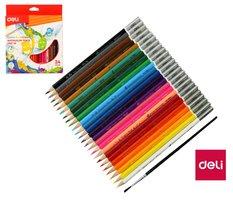 Pastelky DELI aquacolor 24 barev Color Emotion EC00720