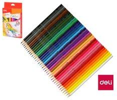 Pastelky DELI trojhranné ColoRun 36 barev EC00330