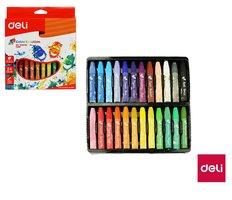 Voskovky olejové DELI 24 barev Color Emotion EC20120