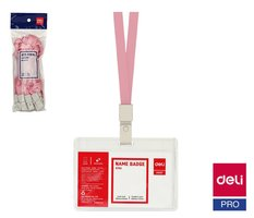 Šňůrka textilní růžová DELI E8352