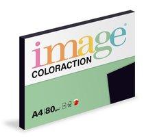 Papír COLORACTION A4/80g/100 Black Černá