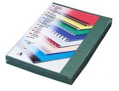 Karton DELTA A4/250g/100ks zelená-imitace kůže