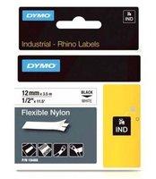 Páska DYMO D1  12mmx3.5m  černá/bílá nylon 18488