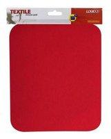 Podložka pod myš, měkká, 24x22x0,3cm, červená LOGO