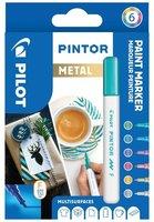 Sada PILOT Pintor Metal - F hrot 1 mm, 6ks 4074/S6-METAL