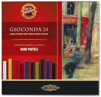 Křídy GIOCONDA olejové/ 24 barev (8114)