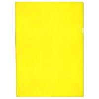 Zakládací obal na doklady L A4 HERLITZ, 110mic, 303x215mm, žlutý, 1ks/10/100, AH 113