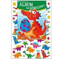 Album na samolepky 'Dinosauři' - 16x29 cm + 45 samolepek 15067