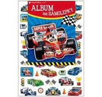 Album na samolepky 'Formule' - 16x29 cm + 45 samolepek 15066