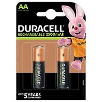 DURACELL Nabíjecí baterie tužková AA 2500 mAh 2 ks