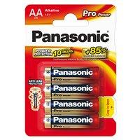 Baterie alkalická, AA, 1.5V, Panasonic, blistr, 4-pack, 235999, Pro Power