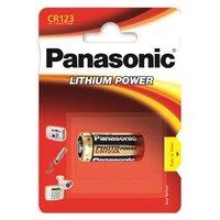 Baterie lithiová, CR123, 3V, Panasonic, blistr, 1-pack, cena za 1 ks baterie
