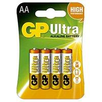 Baterie alkalická, AA, 1.5V, GP, blistr, 4-pack, ULTRA