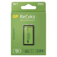 Nabíjecí baterie, 9V, 8.4V, 200 mAh, GP, papírová krabička, 1-pack, ReCyko